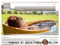 Ranking Webseite gesundes-bayern.de