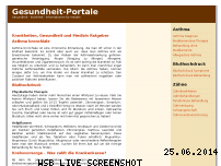 Ranking Webseite gesundheit-portale.de