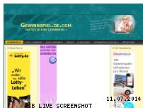 Informationen zur Webseite gewinnspiel.de.com
