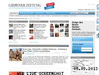 Ranking Webseite giessener-zeitung.de