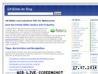 Informationen zur Webseite gif-bilder.de