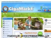 Ranking Webseite gigamarkt.ch