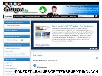 Informationen zur Webseite gingu.de