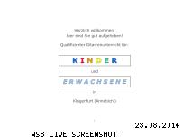 Ranking Webseite gitarrenlehrer-klagenfurt.at