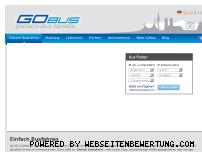 Ranking Webseite go-bus.de