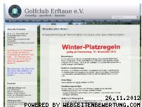 Ranking Webseite golf-erftaue.de
