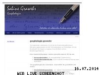 Informationen zur Webseite graphologie-grawehr.ch