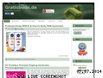 Informationen zur Webseite gratisbude.de