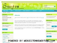 Informationen zur Webseite greenave.de