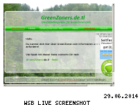 Informationen zur Webseite greenzoner.22o.de