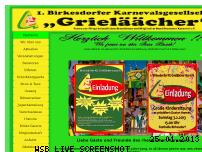 Ranking Webseite grielaeaecher.de