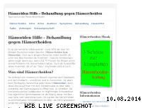 Informationen zur Webseite haemoriden-hilfe.de