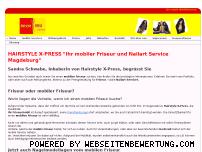 Ranking Webseite hairstyle-x-press.de