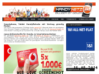 Ranking Webseite handy-netz24.de