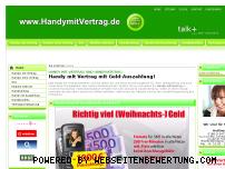Ranking Webseite handymitvertrag.de
