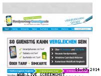 Ranking Webseite handyvertrag-guenstiger.de