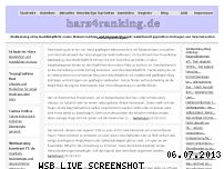 Ranking Webseite harz4ranking.de