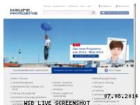 Ranking Webseite haufe-akademie.de