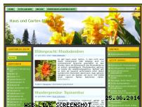 Informationen zur Webseite haus-gartenblog.de