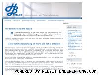 Informationen zur Webseite hb-result.de