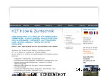 Informationen zur Webseite hebe-zurrtechnik.de