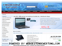 Ranking Webseite hedcom-technik.de