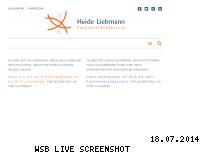 Ranking Webseite heide-liebmann.de