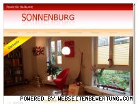 Ranking Webseite heilpraxis-sonnenburg.de