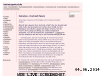 Informationen zur Webseite heiratsportal.de