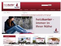Ranking Webseite heizkurier.de