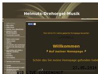 Informationen zur Webseite helmutsdrehorgel.de