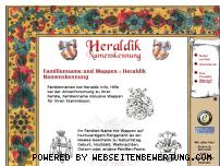 Informationen zur Webseite heraldik-info.de