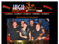 Informationen zur Webseite highlive-band.de
