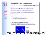 Ranking Webseite hirnwellen-und-bewusstsein.de