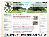 Ranking Webseite hirschfeld-im-schraden.de