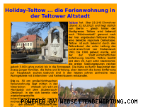 Ranking Webseite holiday-teltow.de