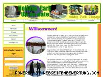 Ranking Webseite holidaypark-uptodate.de