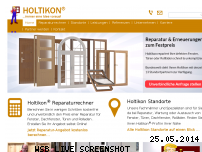 Informationen zur Webseite holtikon.de