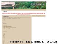 Ranking Webseite holzlexikon.modellskipper.de