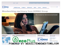 Ranking Webseite homag-group.com