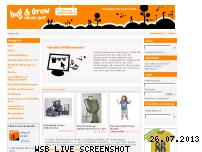 Ranking Webseite hug-and-grow.de