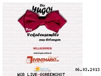 Ranking Webseite hugos-online.de