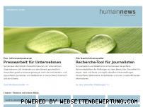 Ranking Webseite humannews.de