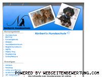 Informationen zur Webseite hundeschule-bottrop.de