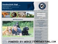 Ranking Webseite hundeschule-vogt.de