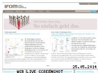 Ranking Webseite i-fom.de