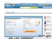Informationen zur Webseite ident24.de