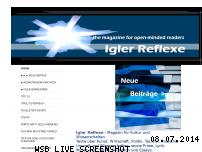 Ranking Webseite igler-reflexe.at