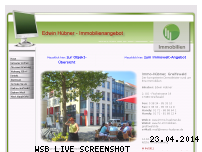 Ranking Webseite immo-huebner.de