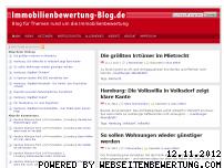 Ranking Webseite immobilienbewertung-blog.de